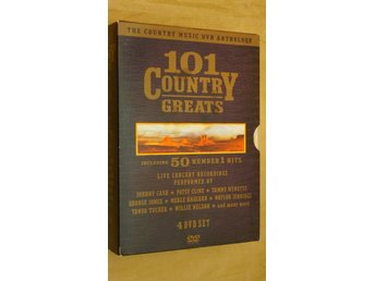 101 COUNTRY GREATS - The Country Music DVD Anthology