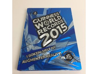 Bok, Guinness world records 2015, Guinness, Inbunden, ISBN: 9789174243611