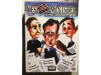Yes, Minister & Yes, Prime Minister - The complete collection. Box REGION 1. NY!