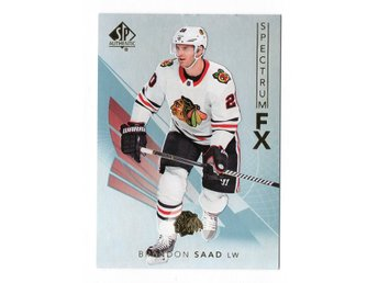17-18 SP Authentic Spectrum FX Veterans Bounty Brandon Saad