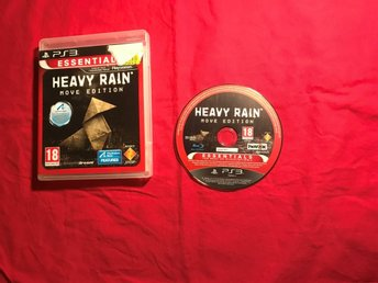HEAVY RAIN MOVE EDITION  PS3 PLAYSTATION 3 OK SKICK