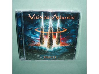 VISIONS OF ATLANTIS - Trinity , CD 2007 , ,