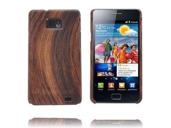 Wood Series (Mörkbrun) Samsung Galaxy S2 Skal - Malmö - Wood Series (Mörkbrun) Samsung Galaxy S2 Skal - Malmö