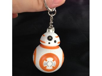 Star Wars BB-8 LED Nyckelring Nyckel Ring