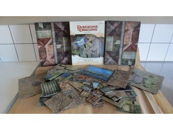 Dungeons&dragons.Dungeon Tiles Master set *The City*  Toppskick.