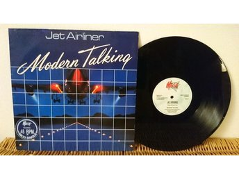 Modern Talking - Jet Airliner 12'' vinyl - NM
