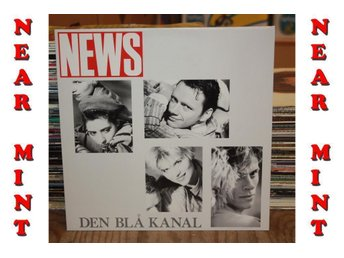 ***NEAR MINT*** --- NEWS - DEN BLÅ KANAL