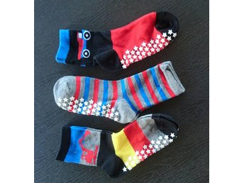 Antihalksockar Anti halk sockar nya stl 25/27 3-pack Walking