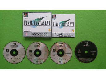 Final Fantasy 7 KOMPLETT med FF8 Demon Playstation 1 PSone ps1