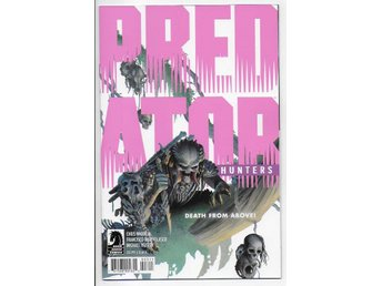 Predator: Hunters # 3 NM Ny Import