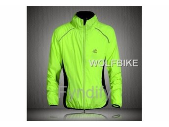 Cykeljacka Outdoor Cycling Jersey Grön L Breathable