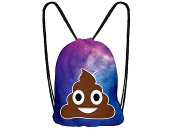 Emoji Gymnastikpåse Gym Bag  väska ryggsäck backpack Hipster