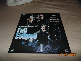 Full Eclipse - Mario Van Peebles - 1 Laserdisc