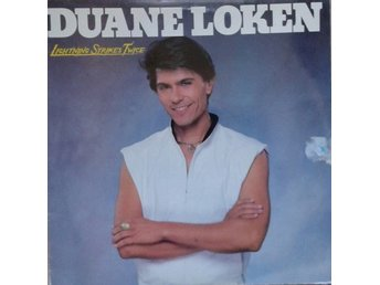 Duane Loken title* Lightning Strikes Twice* Rock, Pop LP Norway