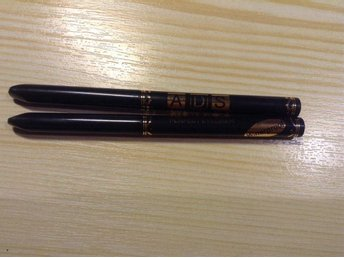 2 st. A.D.S. Perfect eyeliner svart pennor.