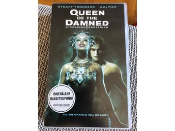 VHS Queen of the damned Aaliyah