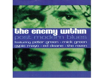 THE ENEMY WITHIN - POST MODERN BLUES. CD