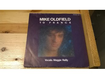 Mike Oldfield - To France, EP