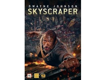 Skyscraper 2018  098 Min  Svtxt  DVD  Ny Dwayne Rock Johnson  Action