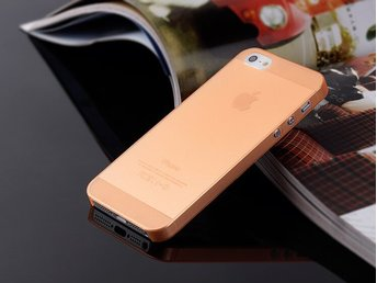 Frosty Case 5/5S orange