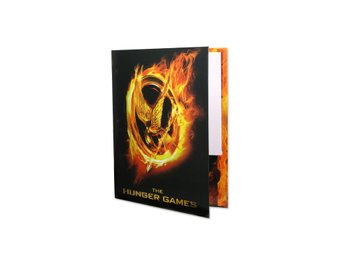 "Hunger Game Movie Folder ""Burning Mockingjay Poster"""