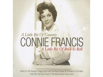 Francis Connie: A little bit of rock & roll (CD) Ord Pris 79 kr SALE