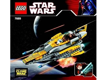 LEGO Star Wars 7669 Anakins Jedi Starfighter