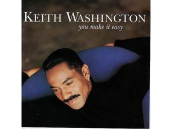 Keith Washington - You Make It Easy (1993) CD, Qwest/Warner Bros. OOP, Like New