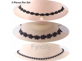 Halsband Set 3 Pieces Per Set