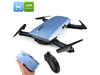 JJRC H47 ELFIE+ Foldable Drone - 720p Camera, 6 Axis, 7 Min Flight Time, FPV, Ap