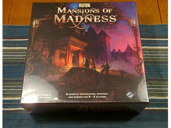 Mansions of Madness 1st Edition, inplastat