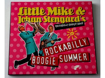 Little Mike & Johan Stengård´s Rockabilly Boogie Band CD pappersomslag