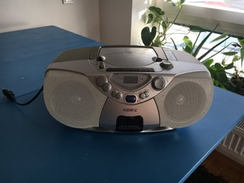 Stereo Philips CD med DBS-bas