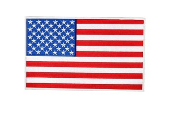 USA, U.S. United States of America(kardborre)Tygmärke,patch,Star Spangled Banner