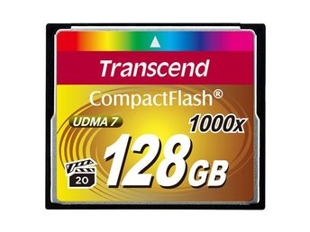 Transcend CompactFlash 128GB 1000x