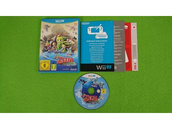 The Legend of Zelda Wind Waker HD Nintendo WiiU wii u