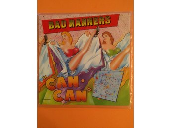 Bad manners - Can Can 7""