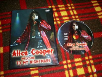 ALICE COOPER,WELCOME TO MY NIGHTMARE,I FINT SKICK