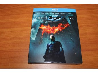 Blu-ray: The dark knight (Christian Bale, Michael Caine, Heath Ledger) (2 discs)