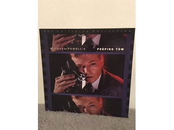 Peeping Tom.  US LASERDISC widescreen Criterion collection nr 156