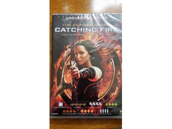 hunger games catchung fire 2 dvd NY inplastad
