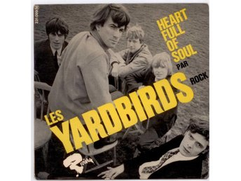 YARDBIRDS - Heart Full Of Soul  EP  Frankrike
