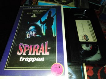 Spiraltrappan (1945) Svensk Rental Hyr ABC Video