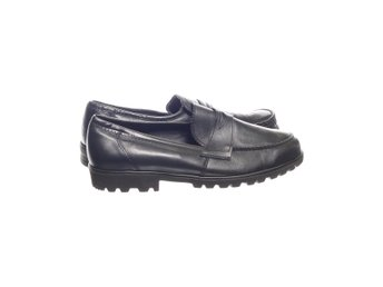 Senator, Loafers, Strl: 42, Svart, Skinnimitation