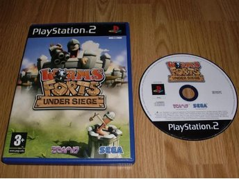 PS2: Worms Forts Under Siege