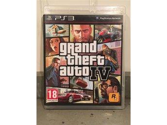 GTA Grand theft auto IV - PS3 spel - Stockholm - GTA Grand theft auto IV - PS3 spel - Stockholm