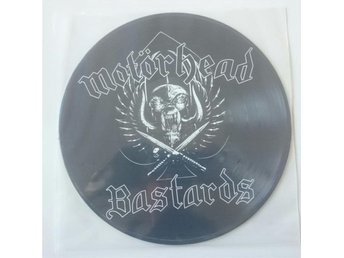 MOTORHEAD - Bastards. Bild LP. Lemmy. Ny. Mint.