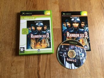RAINBOW SIX 3 XBOX TOM CLANCY`S BRA SKICK