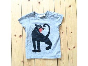 Mini Rodini Panter T-shirt 92/98 - Karlsborg - Mini Rodini Panter T-shirt 92/98 - Karlsborg