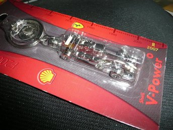 Bil Nyckelring Shell V-power Ferrari F2007